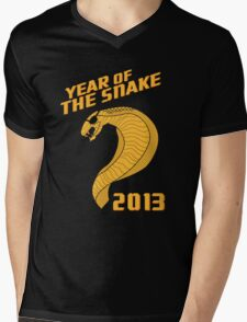 Year of the Snake (Escaped Version) Mens V-Neck T-Shirt