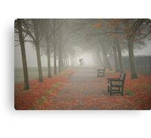 And then came the fog... Canvas Print
