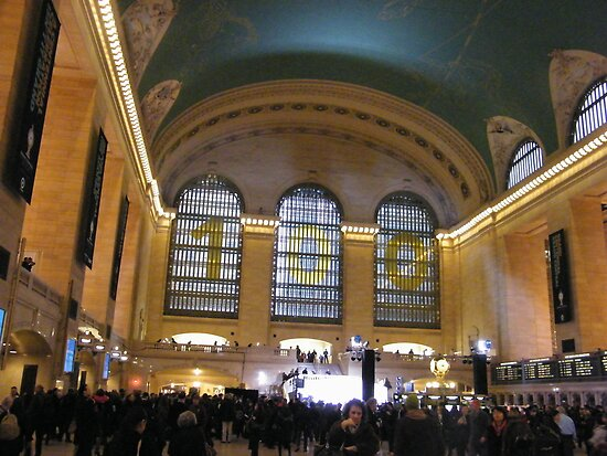 Grand Central Terminal Centennial Celebration, February 1,2013 by lenspiro
