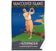 Vintage poster - Vancouver Island Poster