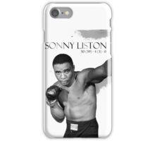 Sonny Liston iPhone Case/Skin