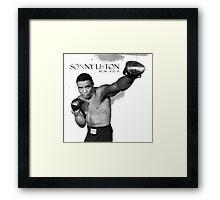 Sonny Liston Framed Print