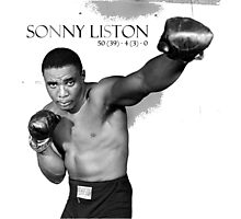 Sonny Liston Photographic Print