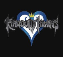Kingdom Hearts Logo by Jeff Lee