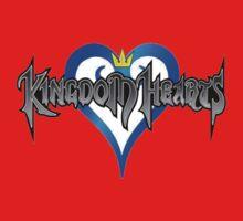 Kingdom Hearts Logo Kids Clothes