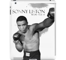 Sonny Liston iPad Case/Skin