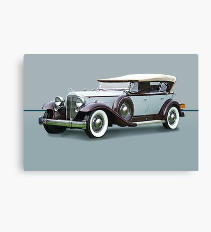 1932 Packard Twin Six Dual Cowl Phaeton w/o ID Canvas Print