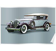 1932 Packard Twin Six Dual Cowl Phaeton w/o ID Poster