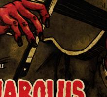 Devil in Music - Violin Sticker