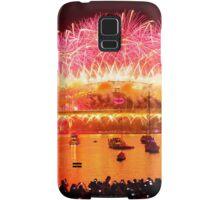 Sydney New Year Firework Samsung Galaxy Case/Skin
