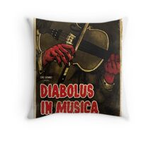 Devil in Music - Violin Throw Pillow