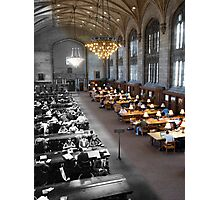 Harper Library: 1945-2012 Photographic Print