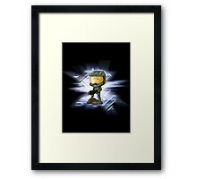 Chibi Master Chief alt. Framed Print