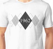 Abstraq Inc: 1962 Argyle (black) Unisex T-Shirt