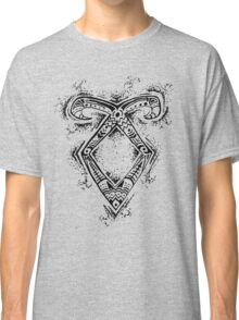 Graceful Angelic Rune Classic T-Shirt