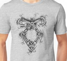 Graceful Angelic Rune Unisex T-Shirt