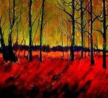 Autumn Flames by Kent  Whitaker