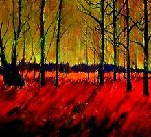 Autumn Flames by Kent  Whitaker