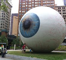 Chicago Eyeball by Avi Schwab