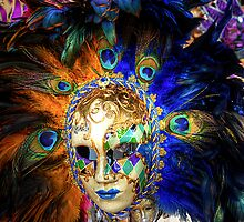 Venetian Carnival Mask - iPad Case by Tom Gomez