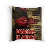 Devil in Music - Piano Throw Pillow