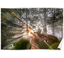 Trumpeting Angel Poster