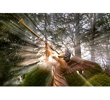 Trumpeting Angel Photographic Print