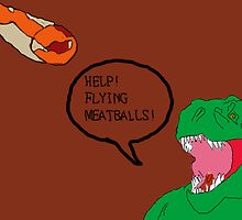 Prehistoric Flying Meatballs by HazzPott