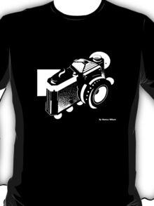 Studio Inverse Abstract Camera T-Shirt