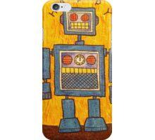 Happy Robot Apocalypse iPhone Case/Skin