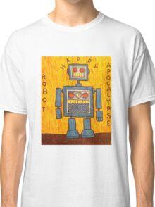 Happy Robot Apocalypse Classic T-Shirt