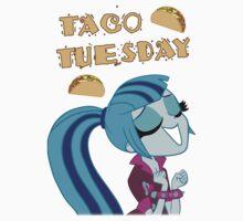 Sonata Dusk - Taco Tuesday - MLP FiM - Brony One Piece - Short Sleeve