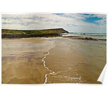 Reflections in the Sand Phillip Island Australia Poster