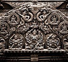 Sepia Goddess by sudhirnair