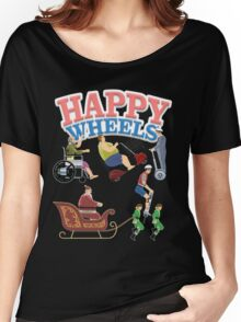 Happy Wheels design Women's Relaxed Fit T-Shirt