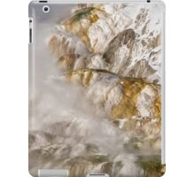 Abstract Mineral Hot Spring Formations iPad Case/Skin
