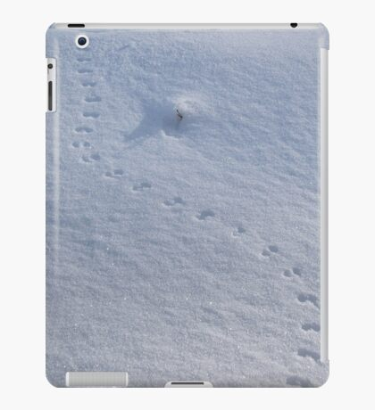 Animal Tracks on Snow iPad Case/Skin