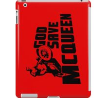 God Save McQueen iPad Case/Skin