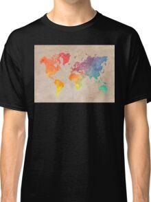 World Map maps Classic T-Shirt