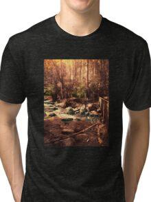 Toorongo River, Noojee Tri-blend T-Shirt