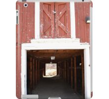 Red Barn Door iPad Case/Skin
