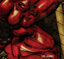 Devil in Music - Harp Sticker