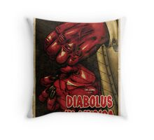 Devil in Music - Harp Throw Pillow