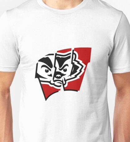 Bucky W - Wisconsin Unisex T-Shirt