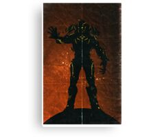 Halo 4 - The Didact Canvas Print