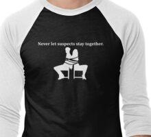 Rule 1 (white) Men's Baseball ¾ T-Shirt