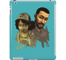 Clem and Lee iPad Case/Skin