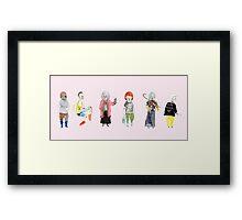 Punk Grannies Framed Print