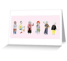 Punk Grannies Greeting Card