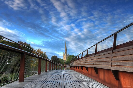 Morning comes to Norwich by Ursula Rodgers